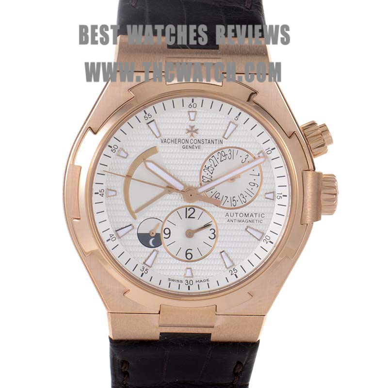 Rose gold vacheron constantin overseas watch replica